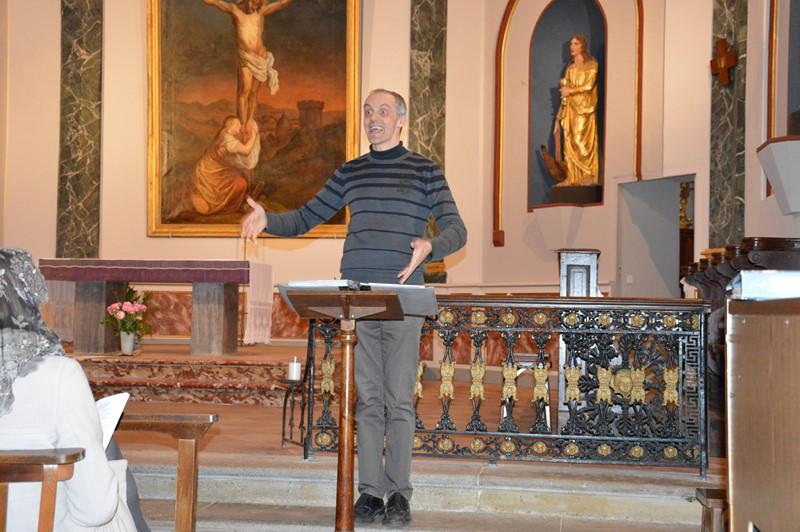 Avant la Semaine Sainte, la chorale se met en voix.