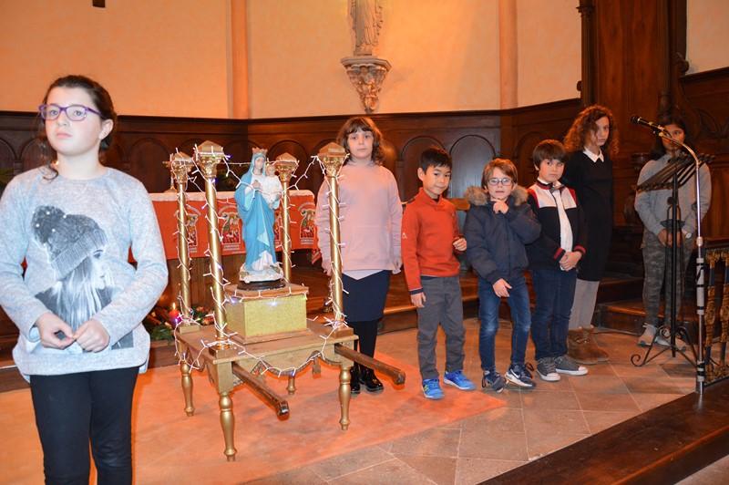 7 enfants et jeunes de notre ensemble paroissial font leur entrée en catéchuménat.