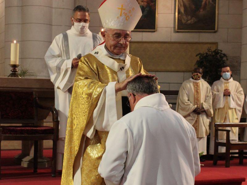 Au cœur du monde, au cœur de l'Église, un nouveau diacre : Guy de Beler