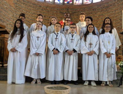 Profession de foi : les collégiens sous le feu de l'Esprit