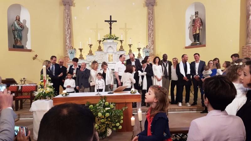 Baptisés dans la lumière de Jésus, ils sont devenus enfants de Dieu.