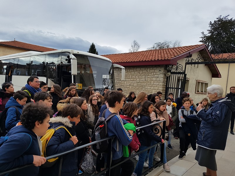 Pèlerinage des collégiens : temps de grâce avec Monsieur Vincent