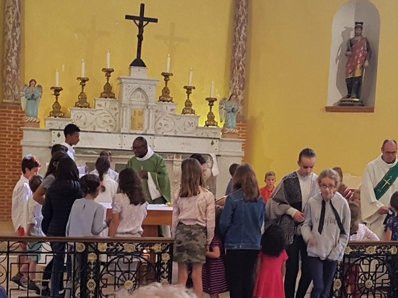 """Première messe des familles : """"Vous êtes l'Église d'aujourd'hui !"""""""