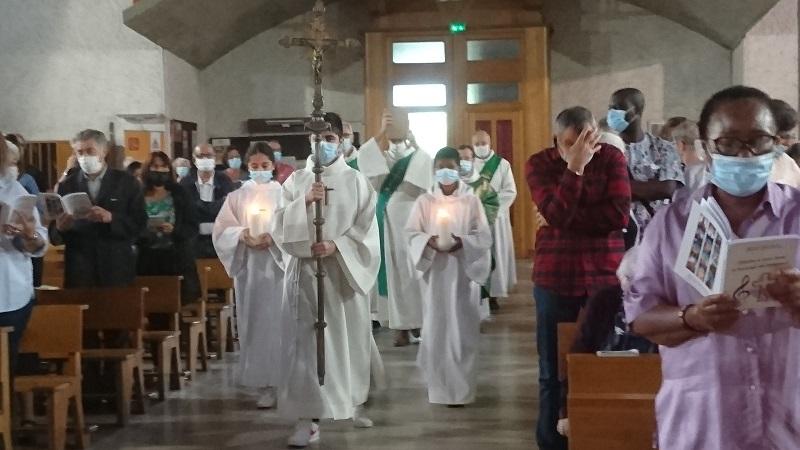Messe de rentrée : revivons et reprenons dans la joie notre mission fraternelle.